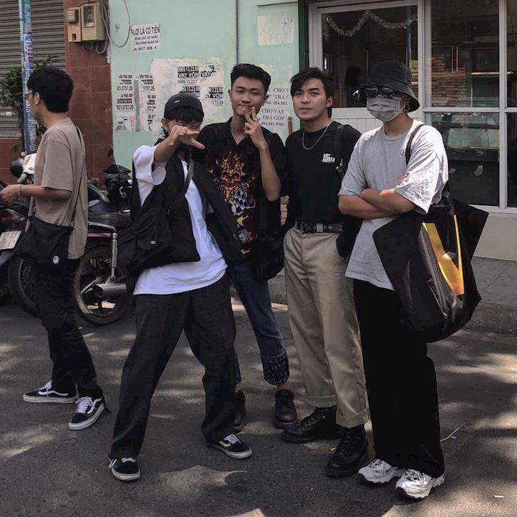Nam gioi 20 tuoi street style chi can mac ao thun la du chuan chat choi 2