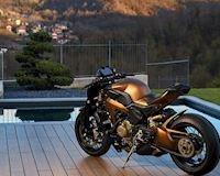 Ducati Panigale V4 độ streetfighter độc nhất thế giới