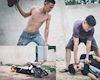Loạt ảnh hai thanh niên chạy Winner trộm Satria và bị tóm gọn