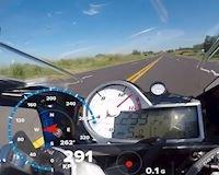Đã mắt với BMW S1000RR đạt tốc độ ngoài 299 km/h