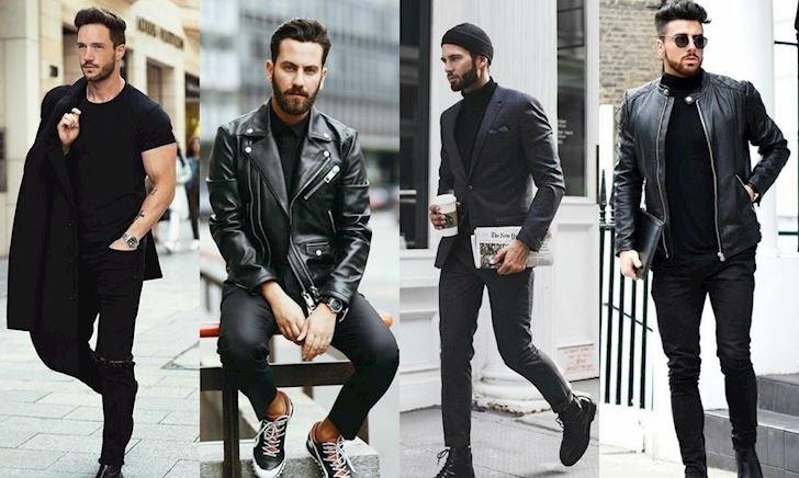 Tủ quần áo chỉ có duy nhất màu đen thôi thì mặc sao cho đẹp?