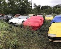 20 siêu xe Ferrari, Lamborghini bị bỏ hoang phế rỉ sét không ai thèm nhận