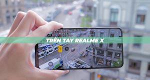 Trên tay Realme X – Ấn tượng với màu 'củ tỏi hành tây'