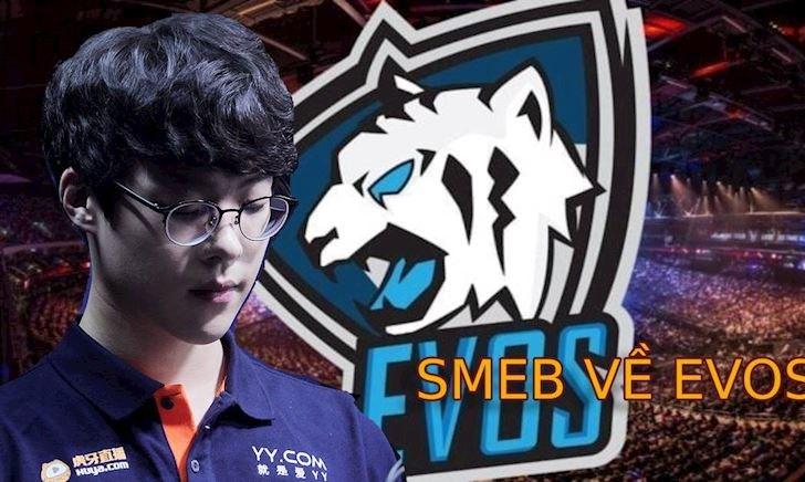 Rộ thông tin Smeb, Wolf về EVOS để quyết chiến với PVB và GAM