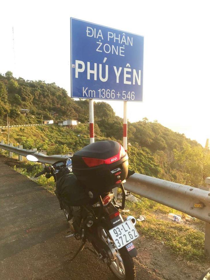 Thú vị với hành trình xuyên Việt của chàng trai 20 tuổi trên chiếc Satria F150