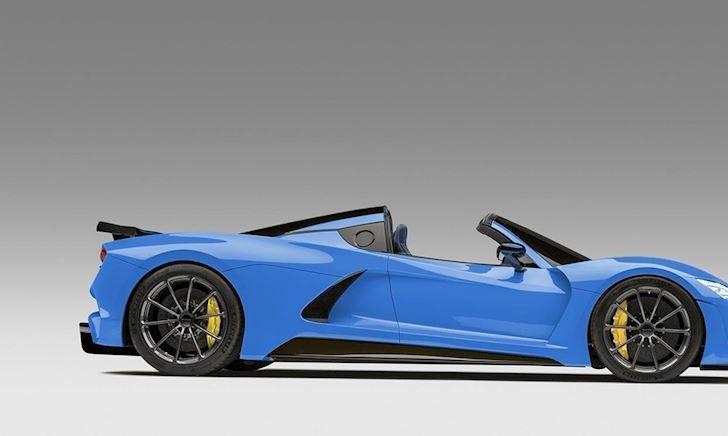 Lộ diện siêu xe mui trần 1.600 mã lực quyết đè bẹp Bugatti Chiron