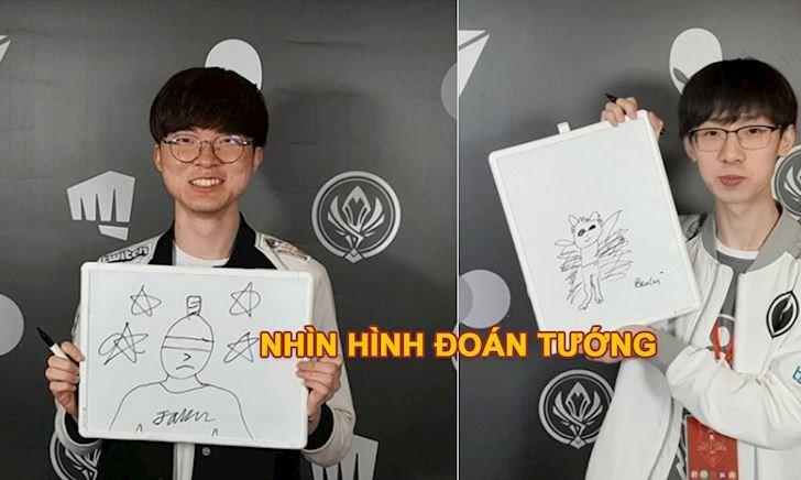 Thử xem tài vẽ tranh về tướng của Faker, Ning, Baolan,... như thế nào?