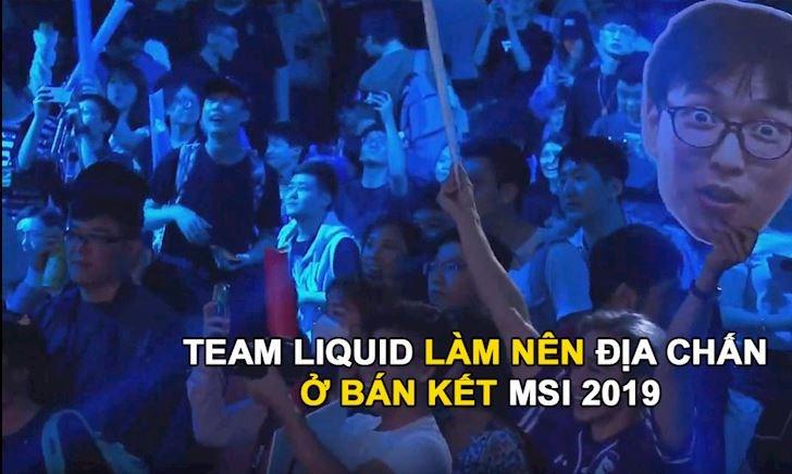 """Fan """"gáy"""" cực mạnh sau khi Team Liquid hạ bệ nhà vô địch thế giới Invictus Gaming"""
