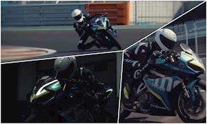 Đối thủ Honda CBR250RR tung clip chạy thử trên đường đua