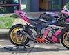 """""""Con của quỷ"""" Kawasaki ZX-10R độ dàn áo hồng cá tính"""