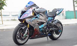 Cá mập BMW S1000RR lên đồ chơi xe đua GP, WSBK chất lừ