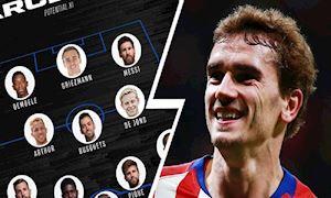 Griezmann sẽ chơi ở đâu trong đội hình Barca?