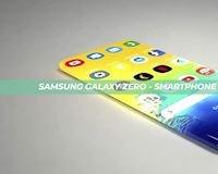 Concept Samsung Galaxy Zero – Chiếc điện thoại không tưởng dành cho tương lai
