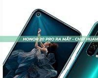 Honor 20 Pro ra mắt với chip Huawei Kirin 980, tương lai sẽ như thế nào?