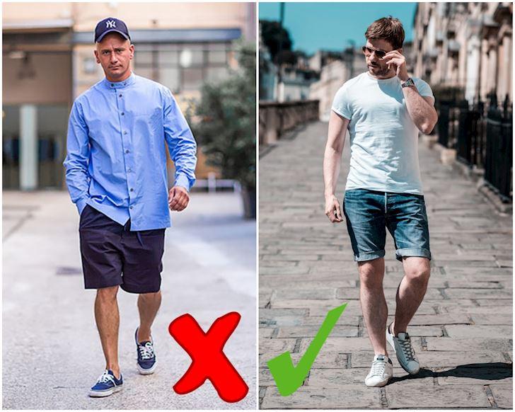 Cách để anh em mặc quần short nam thật bảnh