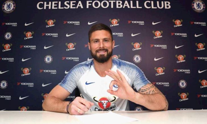 CHÍNH THỨC: Chelsea xử lý xong hợp đồng với Giroud