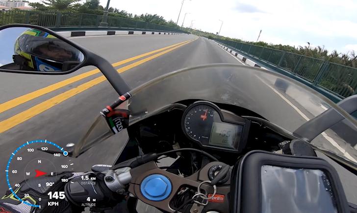 Mô tô 2 thì Aprilia RS125 đạt tốc độ khủng