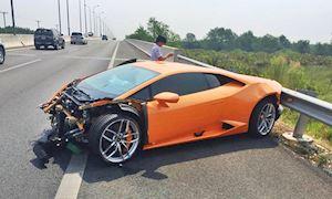 Cấu tạo đặc biệt khiến siêu xe gãy đôi sau tai nạn