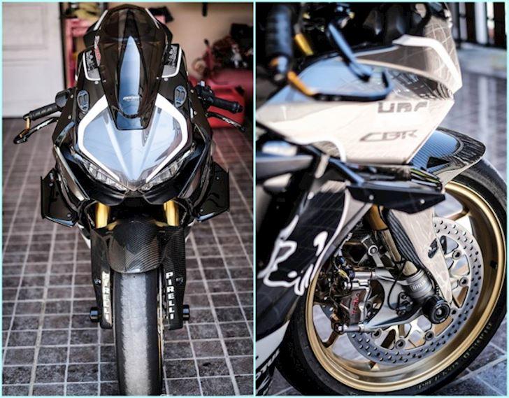 Đẹp tuyệt trần với Honda CBR1000RR độ phong cách Winglet