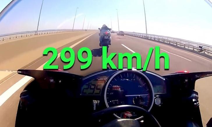 Ngựa hoang Yamaha R6 vẫn có thể lên được 299 kmh