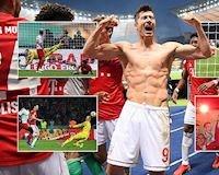 Bayern hoàn tất cú đúp vô địch, làm quà chia tay Robben-Ribery