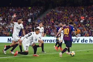 Video Clip: Messi và những pha gánh team trong vô vọng trước Valencia