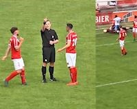 Video Clip: Sốc với trọng tài Hà Lan tự... ghi bàn và công nhận bàn thắng