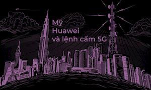 Trong tâm bão: Mỹ cấm Huawei có phải vì 5G?
