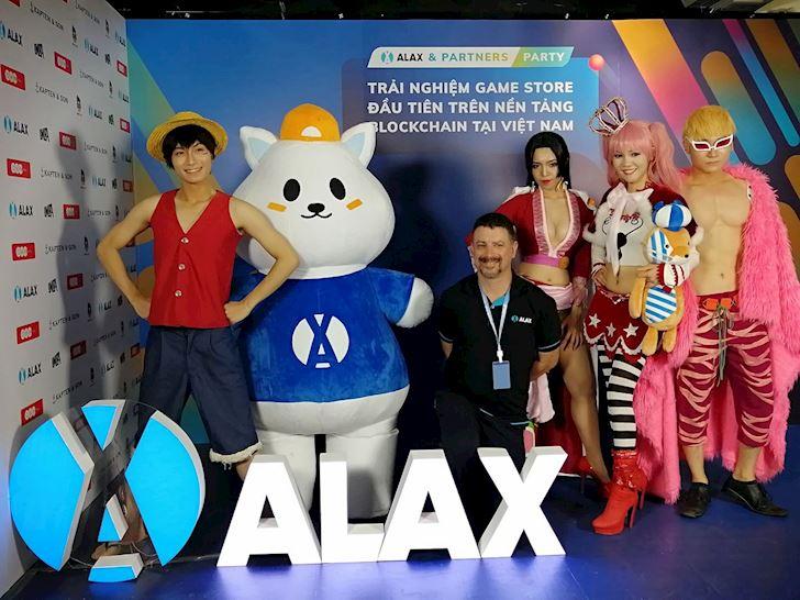 Viet Nam chinh thuc ra mat cua hang game ALAX Store su dung cong nghe tien ao
