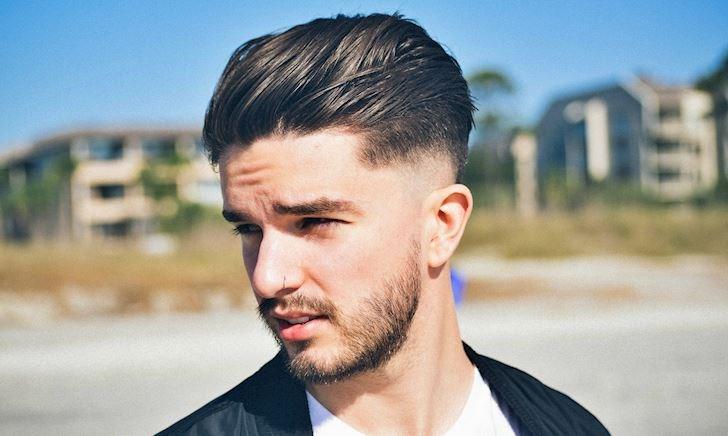 Đàn ông mặt tròn để kiểu tóc gì cho nam tính?