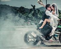 Biker và khoảnh khắc đẹp nhất cuộc đời