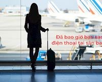 Chuyên gia bảo mật: Không nên sạc điện thoại tại sân bay
