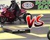 Thần gió Hayabusa đua với Ninja ZX10R chân dài và cái kết