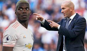 Zidane 'mặt nặng mày nhẹ' với Real vì thương vụ Pogba