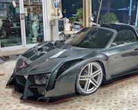 """Dân chơi Thái biến xe """"cùi"""" thành siêu xe Lamborghini triệu đô"""