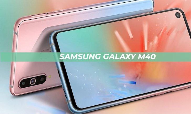Lộ ảnh Samsung Galaxy M40 với cụm 3 camera chính, hỗ trợ sạc nhanh, giá hấp dẫn