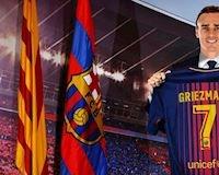 Griezmann đã ký hợp đồng với Barca