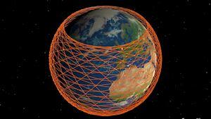 Vệ tinh Starlink sẽ có tốc độ truyền internet ngang ánh sáng trong chân không