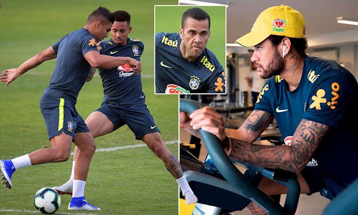 neymar lui thui mot minh brazil suy sup truoc copa america anh 1