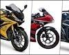 TOP 3 sportbike PKN 150cc đang giảm giá HOT