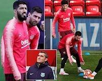 HLV Barca lo Messi và đồng đội không chịu nổi 'nhiệt' ở Anfield