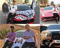 Thiếu niên 17 tuổi sở hữu dàn siêu xe bao người thèm khát