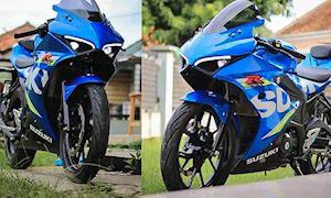 Suzuki GSX-R150 hầm hố với phong cách Ducati Panigale V4