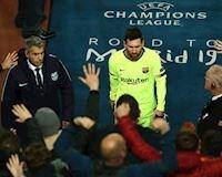 Cả đội ra về sớm, mình Messi bị giam ở Anfield sau thảm bại
