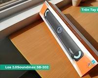 Trên tay nhanh loa 2.0 Soundmax SB-202: Soundbar giá rẻ cho PC Laptop, đơn giản và dễ sử dụng