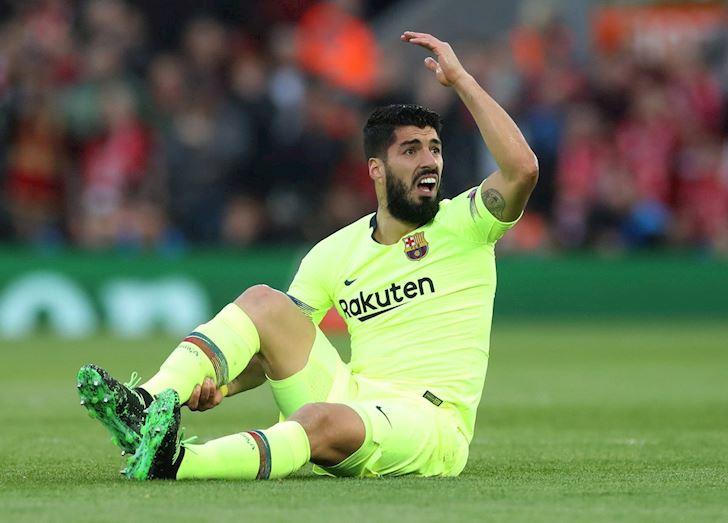 Co Suarez tren san, Barca da nhu chap nguoi anh 2