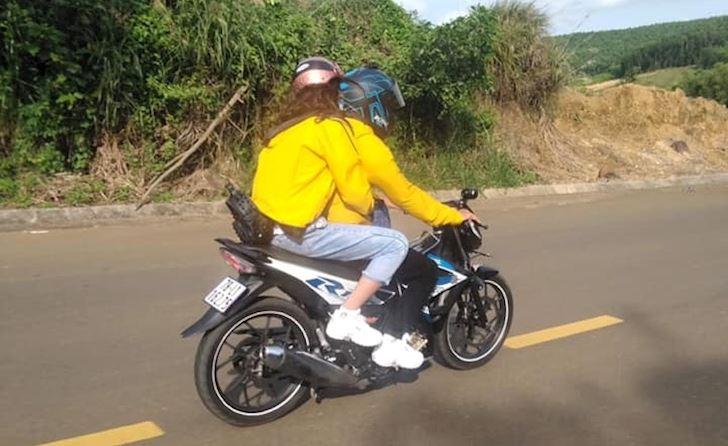 Suzuki Raider 150FI chỉ thích hợp đi tour 1 mình