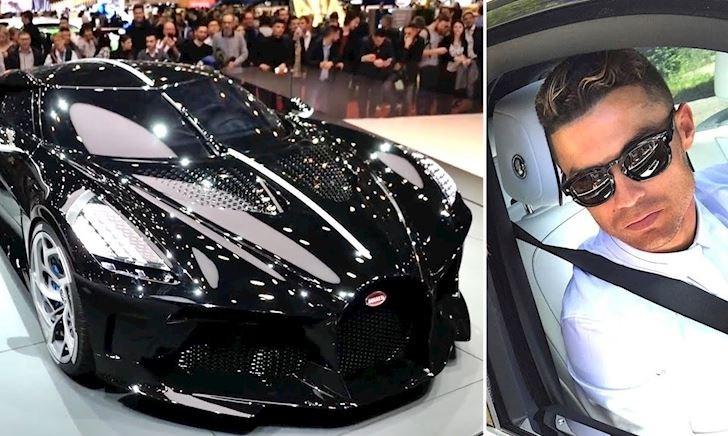 Ronaldo phủ nhận mua siêu xe đắt nhất thế giới 440 tỷ