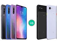 Nên mua Xiaomi Mi 9 SE hay Pixel 3a?