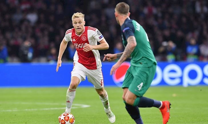 CLIP: Những nỗ lực của các sao trẻ Ajax không đủ giúp họ đến chung kết